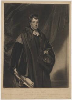John Collier Jones, by Samuel Cousins, published by  James Ryman, after  Thomas Phillips - NPG D36717