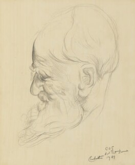 George Bernard Shaw, by Clare Winsten (Clara Birnberg) - NPG 6891