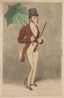 Richard Jones as Young Contrast in John Burgoyne's 'The Lord of the Manor', by Samuel De Wilde - NPG D36725
