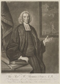Thomas Jones, by Richard Purcell (H. Fowler, Charles or Philip Corbutt), published by  William Herbert, published by  John Fuller, after  M. Jenkin - NPG D36728