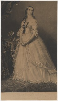 Miss Helen Faucit in the Character of the Lady of Lyons (Helen Faucit (Helena (née Faucit Saville), Lady Martin)), published by Welch & Gwynne - NPG D36665