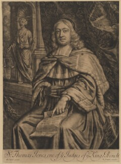 Sir Thomas Jones, published by Richard Tompson, after  William Wolfgang Claret - NPG D36732