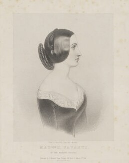 M. Favanti, by Richard James Lane, printed by  M & N Hanhart, published by  John Mitchell - NPG D36669