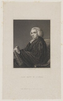 William Jones, by Robert Graves, published by  J.F. Dove - NPG D36737