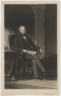 William Fawcett, by Thomas Goff Lupton, after  George Patten - NPG D36676