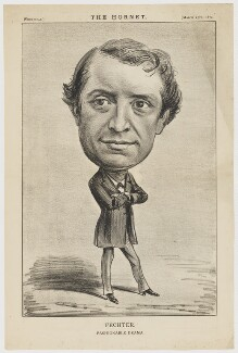 Charles Albert Fechter 'Fechter. Fashionable Drama', published by Frederick Arnold, after  Unknown artist - NPG D36679