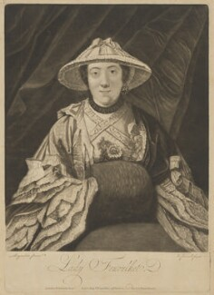 Anne (née Day), Lady Fenoulhet, by Richard Purcell (H. Fowler, Charles or Philip Corbutt), after  Sir Joshua Reynolds - NPG D36686