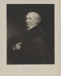 Robert Ferguson, by William Ward, after  Henry William Pickersgill - NPG D36692