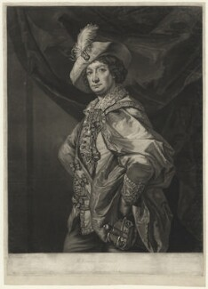 Henry Woodard in 'Petruchio', by and published by John Raphael Smith, printed by  James Gamble, after  Benjamin Vandergucht - NPG D36289