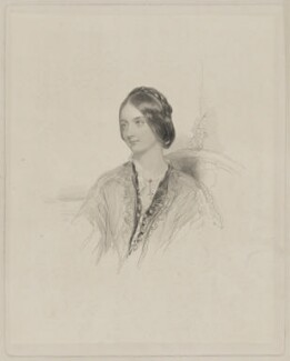 Mrs Ferrer, by William Henry Mote, after  Unknown artist - NPG D36695