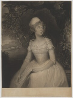 Charlotte Duncombe (née Legge), Lady Feversham, by Joseph Grozer, published by  William Richardson, after  George Romney - NPG D36699