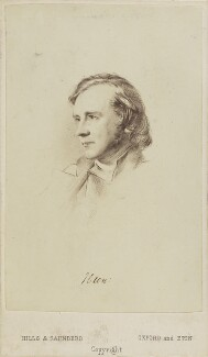 Albert Basil Orme Wilberforce with three unknown men, by Hills & Saunders, after  Unknown engraver - NPG Ax10052