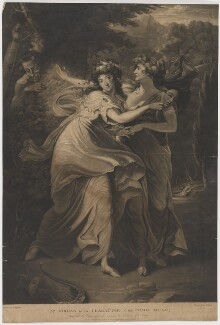 Dorothy Jordan in the Character of the Comic Muse, by and published by Thomas Park, after  John Hoppner - NPG D36742