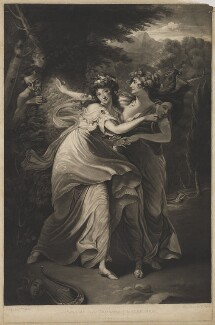 Dorothy Jordan in the Character of the Comic Muse, by and published by Thomas Park, after  John Hoppner - NPG D36743