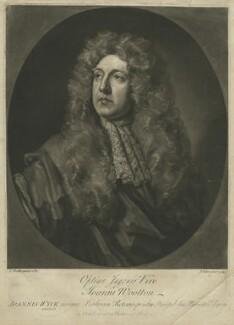 Jan van Wyck, by John Faber Jr, after  Sir Godfrey Kneller, Bt - NPG D36293