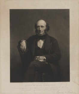 Edwin Wilkins Field, by Charles George Lewis, after  Sir John Watson-Gordon - NPG D36911