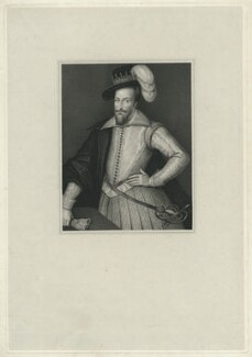 Henry Somerset, 1st Marquess of Worcester, by Thomas Anthony Dean, after  Cornelius Johnson (Cornelius Janssen van Ceulen) - NPG D36296