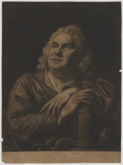Sir John Fielding, by John Raphael Smith, after  Nathaniel Hone, published 1773 - NPG D36914 - © National Portrait Gallery, London