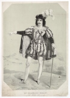 Charles John Kean as Sir Giles Overreach in Philip Massinger's 'New Way to Pay Old Debts', by William Drummond - NPG D36756