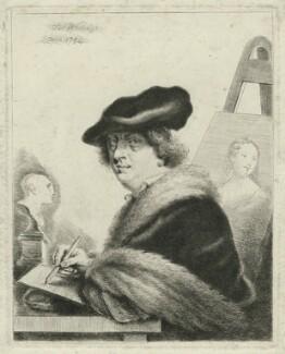 Thomas Worlidge, by Thomas Worlidge, 1754 - NPG D36300 - © National Portrait Gallery, London