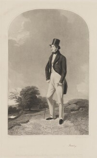 Charles Anderson-Pelham, 1st Earl of Yarborough, by Samuel William Reynolds, published by  Thomas Agnew, published by  Ackermann & Co, published by  Anaglyphic Company, after  Richard Ansdell - NPG D36301