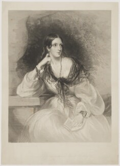 Lady Emmeline Stuart-Wortley (née Manners), by Frederick Christian Lewis Sr, after  Sir Francis Grant - NPG D36305