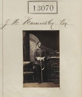 John Henry Hamersley, by Camille Silvy - NPG Ax62711