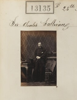 Sir Charles Sullivan, 4th Bt, by Camille Silvy - NPG Ax62776