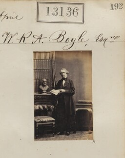 William Robert Augustus Boyle, by Camille Silvy - NPG Ax62777