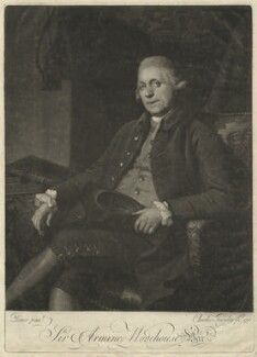 Sir Armine Wodehouse, by Charles Townley, after  Nathaniel Dance (later Sir Nathaniel Holland, Bt) - NPG D36316