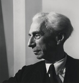 Bertrand Arthur William Russell, 3rd Earl Russell, by Jane Bown - NPG x133112