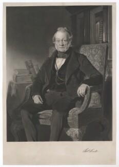 Robert Keate, by John Richardson Jackson, after  John Prescott Knight - NPG D36762