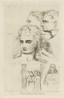 Benjamin Robert Haydon; John Keats, by Arthur Dawson, after  John Keats, after  Benjamin Robert Haydon, before 1934 (1816) - NPG D36763 - © National Portrait Gallery, London