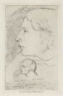 John Keats, by Arthur Dawson, after  Benjamin Robert Haydon, before 1934 (1816) - NPG D36764 - © National Portrait Gallery, London