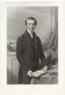 John Keble, by Samuel Cousins, published by and after  George Richmond, published 1 September 1845 (1844) - NPG D36766 - © National Portrait Gallery, London