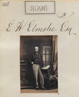 E.W. Elmshe, by Camille Silvy - NPG Ax132881
