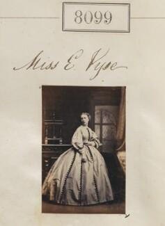 E. Vyse, by Camille Silvy - NPG Ax132884