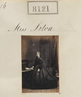 Miss Silva, by Camille Silvy - NPG Ax132890