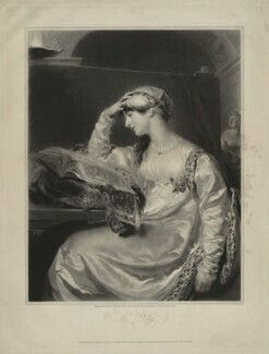 Isabella Ann Wolff, by Samuel Cousins, published by  Paul and Dominic Colnaghi & Co, after  Sir Thomas Lawrence - NPG D36321