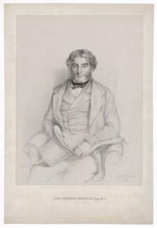 Samuel Trehawke Kekewich, by Richard James Lane, after  Richard Augustus Clack - NPG D36771