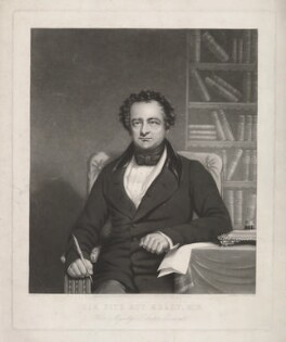 Sir Fitzroy Edward Kelly, by Sydney Marks, after  A. Lucas - NPG D36772