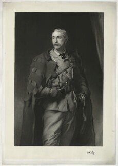Garnet Joseph Wolseley, 1st Viscount Wolseley, by Richard Josey, published by  Henry Graves & Co, after  Frank Holl - NPG D36340