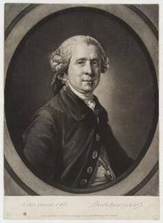 Samuel Foote, by Richard Brookshaw, after  Francis Cotes - NPG D20362