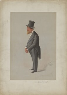 James Duff, 5th Earl of Fife, by Carlo Pellegrini, 1872 - NPG D36921 - © National Portrait Gallery, London