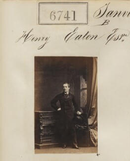 Henry Enderby Eaton, by Camille Silvy - NPG Ax56668