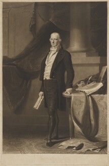 Arthur James Plunkett, 8th Earl of Fingall, by Charles Turner, published by  Thomas Clement Thompson, after  Joseph Del Vechio - NPG D36923