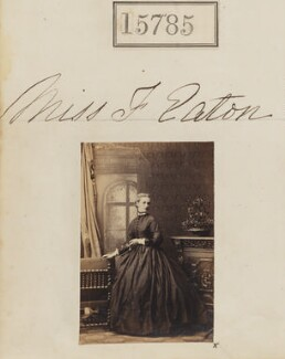Fanny Eaton, by Camille Silvy - NPG Ax63713