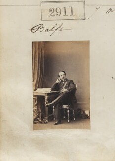 Michael William Balfe, by Camille Silvy, 7 April 1861 - NPG Ax52300 - © National Portrait Gallery, London
