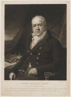 John Finlay, by Samuel William Reynolds, after  Laurence Joseph Cossé - NPG D36924