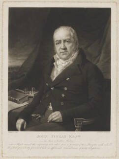 John Finlay, by Samuel William Reynolds, after  Laurence Joseph Cossé - NPG D36925